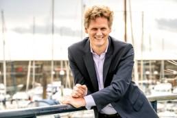 Inspirational leadership speaker and author, Caspar Craven
