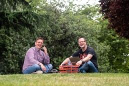 Simon Paine and Alan Donegan, co-founders of Pop-Up Business School now Rebel Business